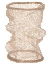Christian Koban | Brown Cocoon Woven Bracelet | Lyst