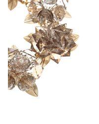 Coast White Faria Flower Necklace