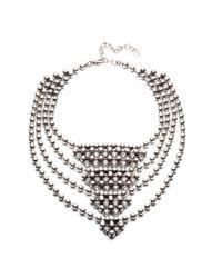 DANNIJO - Metallic Elizabeth Necklace - Lyst