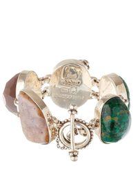 Stephen Dweck Green Moonstone Bracelet