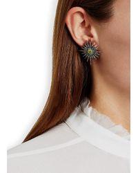 Bochic | Multicolor Fancy Starburst Diamond Earrings | Lyst