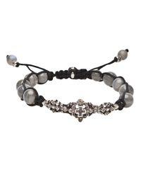 Roman Paul | Gray Labradorite Bracelet for Men | Lyst