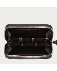 Bally Brown Tebiot Men ́s Leather Coin Purse In Chocolate for men