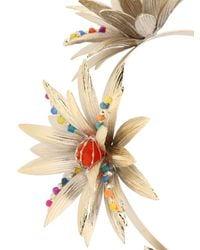 Rosantica Metallic Florinda Floral Headband