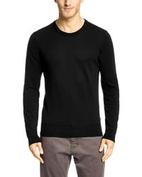 BOSS Black Cotton Sweater 'lauro' for men