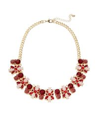 Catherine Stein | Metallic Floral Cluster Collar Necklace | Lyst