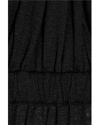 T-bags - Black Slubjersey Maxi Dress - Lyst