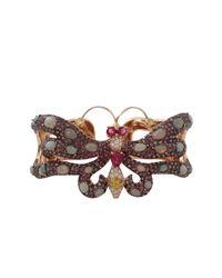 Wendy Yue - Metallic Sapphire Butterfly Cuff - Lyst