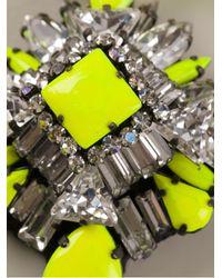 Shourouk - Yellow Rosario Necklace - Lyst