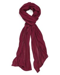 Echo - Solid Wrap - Purple - Lyst