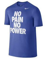 Nike | Blue Men's Legend Dri-fit Graphic Print T-shirt for Men | Lyst