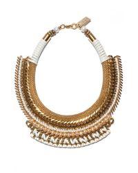 Lizzie Fortunato Metallic Exclusive Pearl Wheat Field Necklace