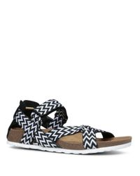 Lord & Taylor | Black Wialla Printed Sandals | Lyst