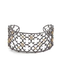 Alexis Bittar | Metallic 'elements' Open Cuff | Lyst