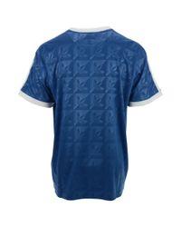 Adidas Blue Seattle Sounders Fc Logoprint T-Shirt for men