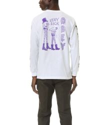 Obey - White Stay Sick Tee for Men - Lyst