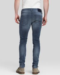 Scotch & Soda Gray Jeans - Skinny Slim Fit In Charcoal for men