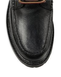 Polo Ralph Lauren | Black Willingcott Leather Boots for Men | Lyst