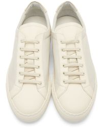 Common Projects - Gray Grey Achilles Low Premium Sneakers for Men - Lyst