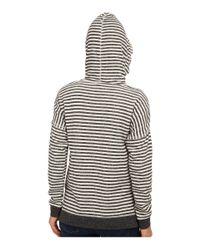 Volcom | Black Lived In Stripe Pullover | Lyst