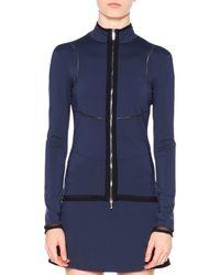 Callens - Blue Tech Fabric Track Jacket - Lyst