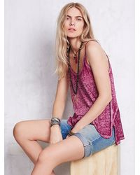 Free People | Purple We The Free Womens We The Free Sunshine Tank | Lyst