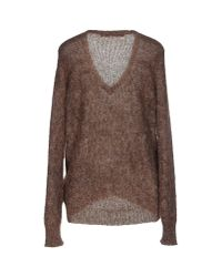 Schumacher Brown Jumper