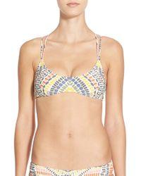Rip Curl | Multicolor 'moon River' Bikini Top | Lyst
