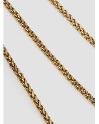 A Detacher Metallic Lunetta Necklace Brass