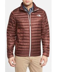 The North Face | Brown 'Tonnerro' Compressible Down Puffer Jacket for Men | Lyst