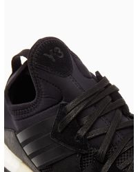 Y-3 Black Response Boost Sneakers for men