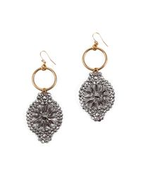 Lulu Frost - Metallic 100 Year Earring #30 - Lyst