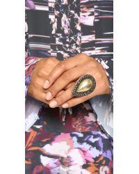 Samantha Wills - Metallic Bardot Ring - Burnished Gold - Lyst