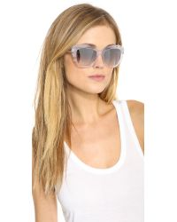 Oliver Peoples - Multicolor Emmy Mirror Sunglasses - Ghost - Lyst