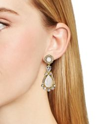 kate spade new york - Metallic Butter Up Statement Earrings - Lyst