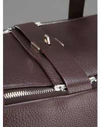 Golden Goose Deluxe Brand Brown Equipage Holdall for men