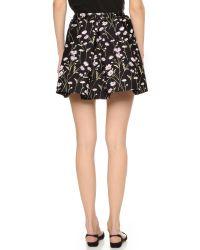 Giambattista Valli | Yellow Pleated Skirt | Lyst