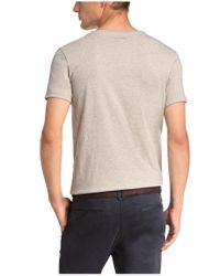 BOSS Orange - Natural T-shirt 'taneo 1' With A Round Neckline for Men - Lyst