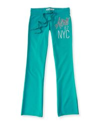 Aéropostale | Blue Aero 87 Nyc Fit & Flare Sweatpants | Lyst
