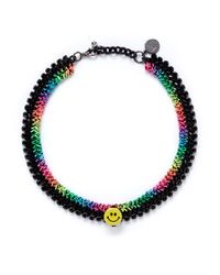 Venessa Arizaga - Multicolor 'rainbow Smile' Necklace - Lyst