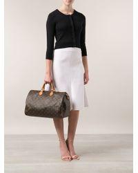 Louis Vuitton Brown Monogram Speedy 40 Bag