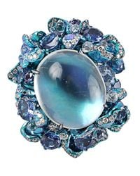 Arunashi | Blue Moonstone Ring | Lyst