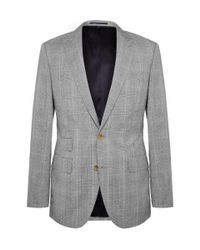 Isaia Prince of Wales Check Suit
