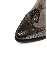 Moda In Pelle | Gray Calvano Medium Smart Shoes | Lyst