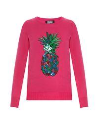 Markus Lupfer | Pink Rainbow Pineapple Emma Jumper | Lyst