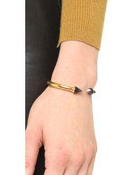 Vita Fede Metallic Mini Titan Stone Bracelet - Gold/onyx/jasper
