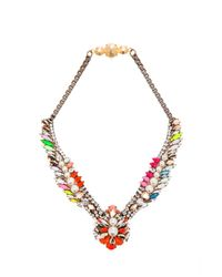 Shourouk | Multicolor Tabatha Necklace | Lyst