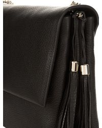 Lanvin - Black Sugar Medium Leather Shoulder Bag - Lyst