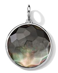 Ippolita | Black Sterling Silver Carved Intaglio Love Charm | Lyst