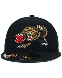 KTZ Black Vancouver Grizzlies Retro 59Fifty Cap for men